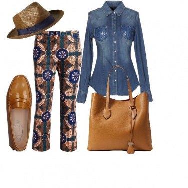 Outfit Le tasche piene di strass
