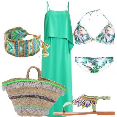 Outfit In spiaggia in lungo