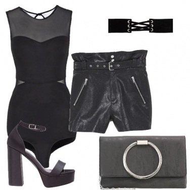 Outfit Mi piace il nero