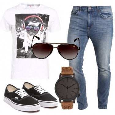 Outfit Dj alla consolle