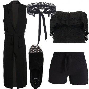 Outfit Merletti e fiocchi