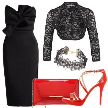 Outfit Eleganza e sensualità