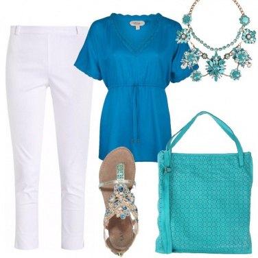 Outfit Le sfumature del mare