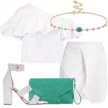Outfit Magia in bianco
