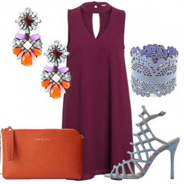 Outfit Eleganti contrasti