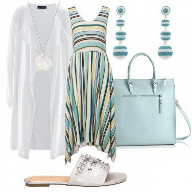 54cf09c966 Come abbinare la maglia e il cardigan: 1000 Outfit Donna | Estate ...