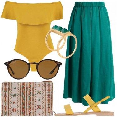 Outfit La pochette etnica