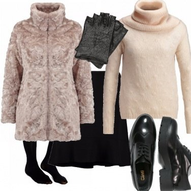 Outfit Pink fur