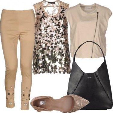 Outfit Neutro scintillante