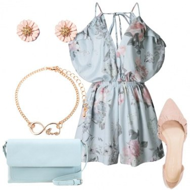 Outfit Playsuit romantica