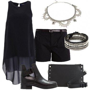 Outfit Leggero rock