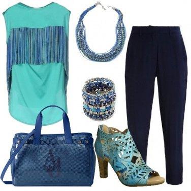Outfit La blusa particolare