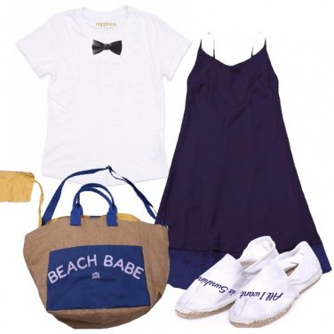 Outfit Come il mare più blu