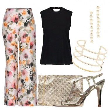 Outfit Dettagli dorati