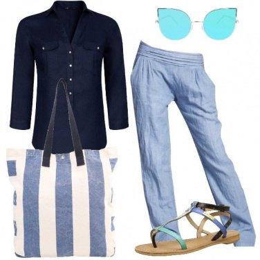 Outfit Fresca con il lino