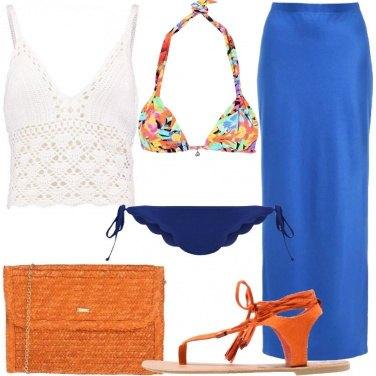 Outfit Subito pronta dopo la spiaggia