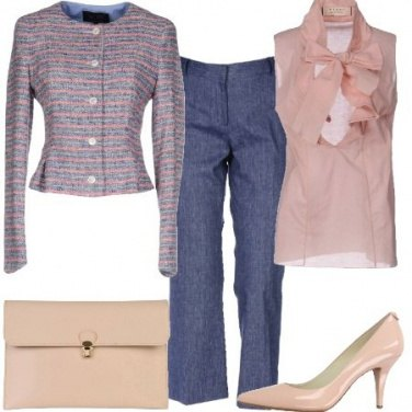 Outfit Giacca lamé