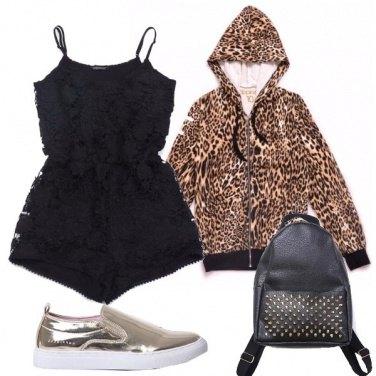 Outfit Veloce come un leopardo