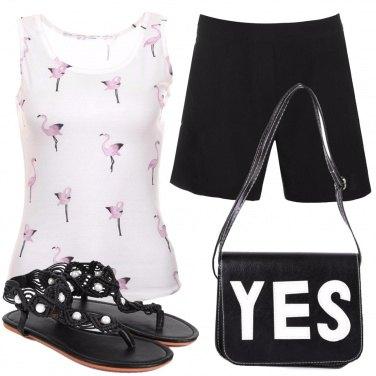Outfit Tanti fenicotteri