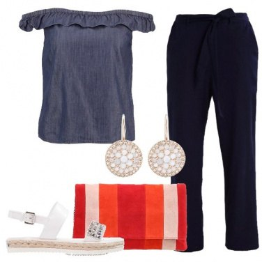 Outfit Carina nel tempo libero