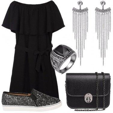 Outfit Freschezza in nero