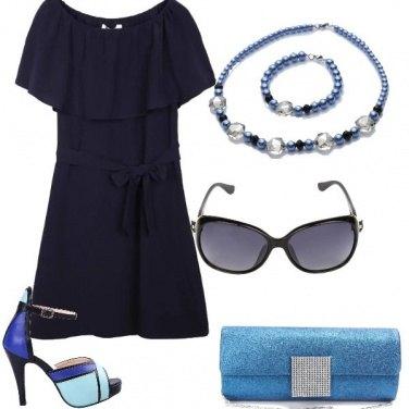 Outfit Il blu elegante