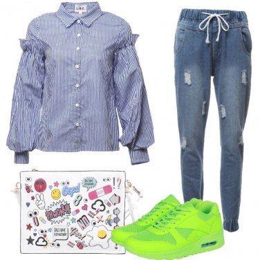 Outfit Sneakers in evidenza