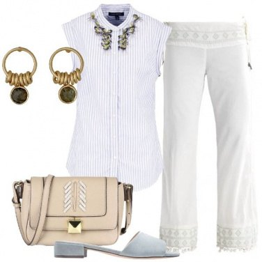Outfit Boho raffinato