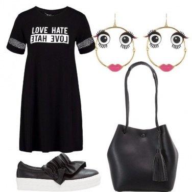 Outfit Orecchini felici