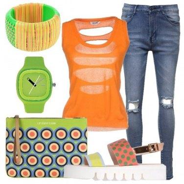 Outfit Insoliti abbinamenti di pois