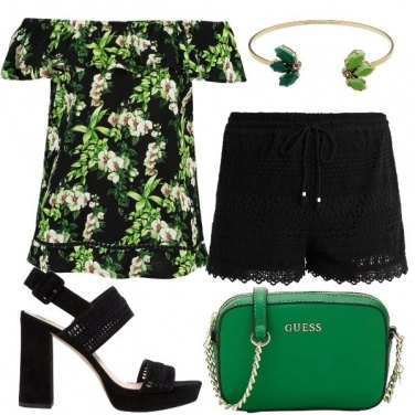 Outfit Orchidea selvaggia
