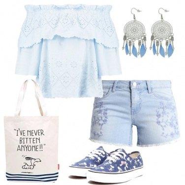 Outfit Snoopy di giorno