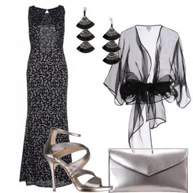 Outfit Sirena damascata