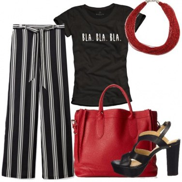 Outfit Parole sulla t-shirt