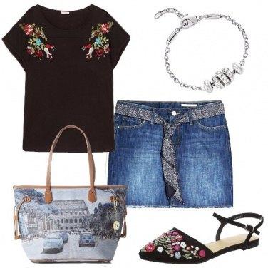 Outfit Roma tra i fiori