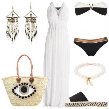 Outfit Raffinata anche in spiaggia