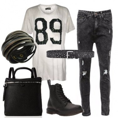 Outfit La mia t-shirt