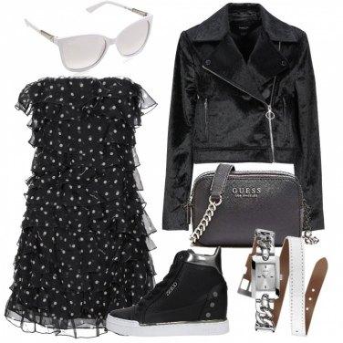 best sneakers 64695 47e6a Come abbinare il vestito a pois: 199 Outfit Donna   Estate ...