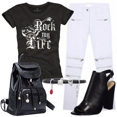 Outfit Serata rock