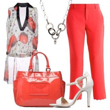 Outfit Il sandalo bianco