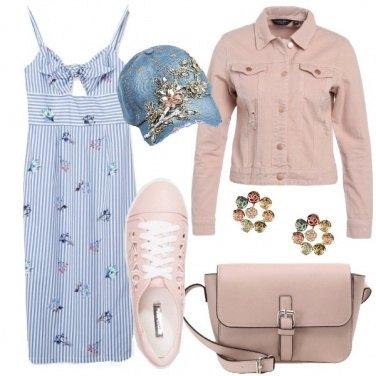 Outfit Toni romantici urbani