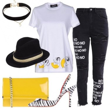 Outfit Allegra e spiritosa