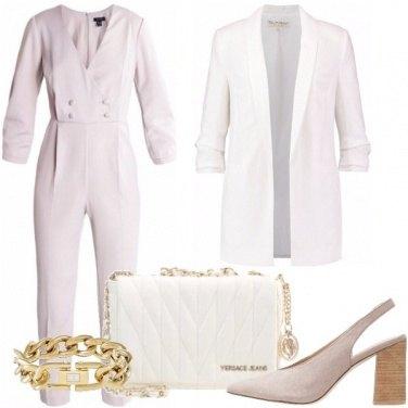 Outfit La tuta grigia