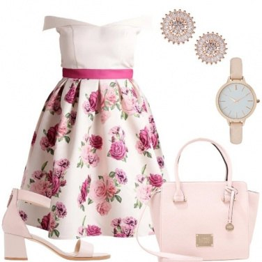 Outfit Bouquet di rose