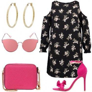 Outfit Amo il fucsia