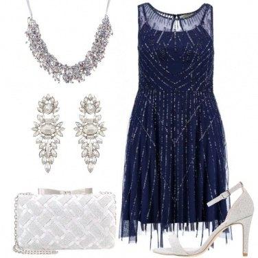 Outfit Blu prezioso