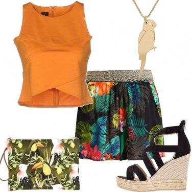 Outfit Sognando i tropici