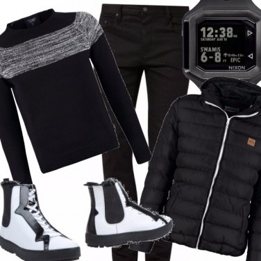 Outfit Grinta sportiva anche in inverno