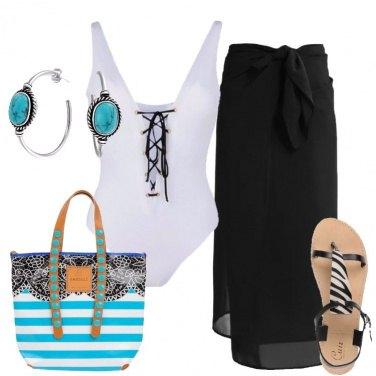Outfit Il fascino dell\'intero bianco