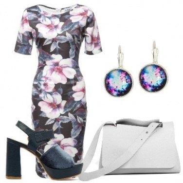 Outfit Tubino floreale
